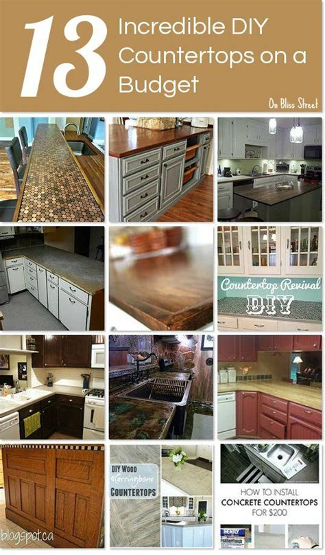 diy countertops countertops and cabinet colors on