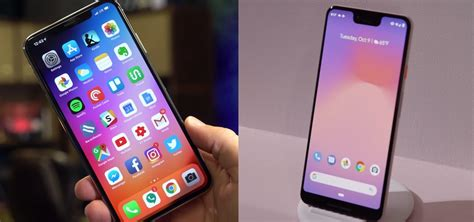 pixel 3 xl vs iphone xs max it s a tough match between the two large flagships 171 android