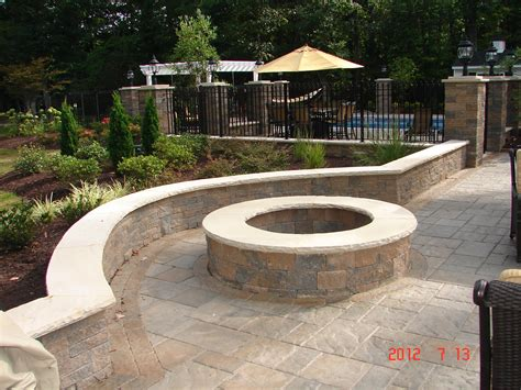 Backyard Paver Patio Short Pump Hardscapes Patio Pool Decks And Design