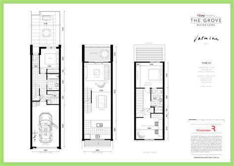 Townhouse Floor Plans With Garage | maidstone townhouses the grove jp eastwoods