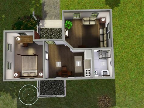 Sims 3 Starter House Plans Starter Homes For Sims 3 At My Sim Realty