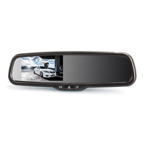 auto rear view auto vox dual inputs 4 3 quot auto adjusting brightness