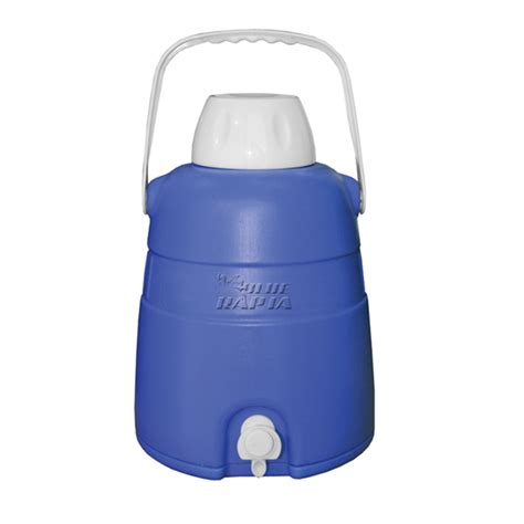 Dispenser Delvonta Water Jug 5 8 Ltr blue rapta 5l blue cooler jug w tap