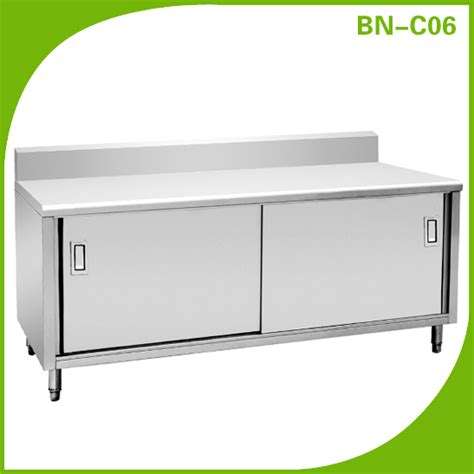 commercial stainless steel kitchen cabinets yuan bao nan kitchen equipment