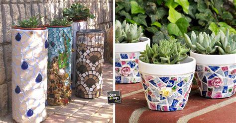 piastrelle fai da te decorazioni fai da te recuperando le ceramiche rotte 20