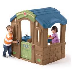 step 2 cottage playhouse used play up picnic cottage playhouse step2