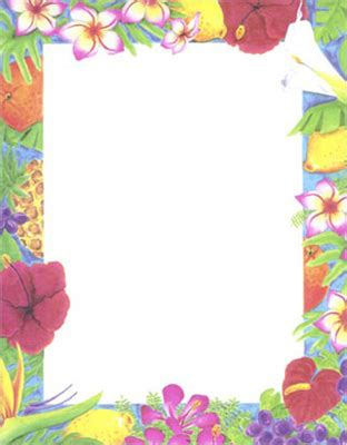 luau design paper 8.5x11 geographics 85103