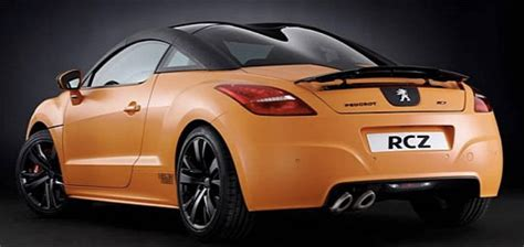 car maker peugeot car maker peugeot unveils rcz arlen ness edition at