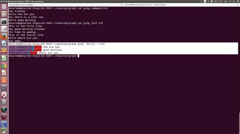 grep pattern beginning line anusree grep commands in linux unix exles
