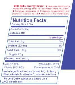 carbohydrates in 5 hour energy bracelets for 5 hour energy nutrition facts