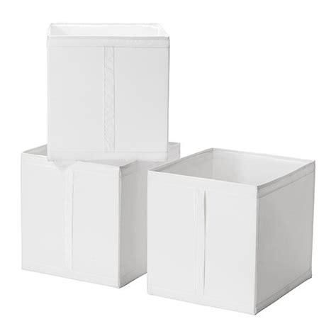 ikea storage box skubb box white ikea