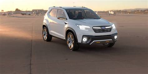 does subaru a 7 seater will subaru name their new 3 row crossover ascent 7