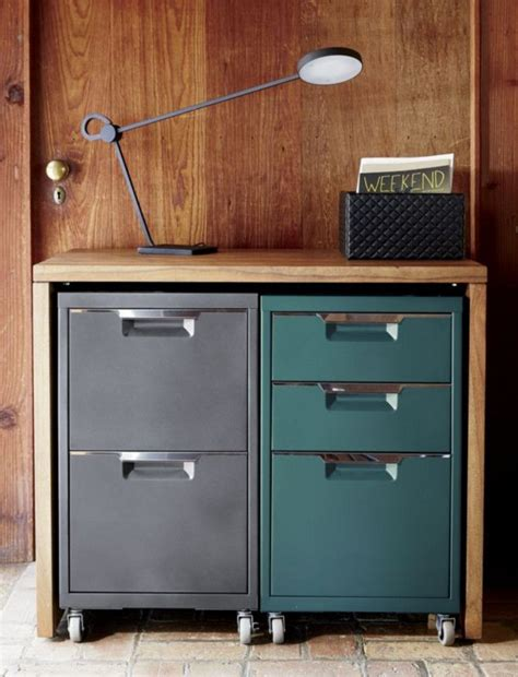 rolling file cabinet lovely cb2 acacia wood console with 2