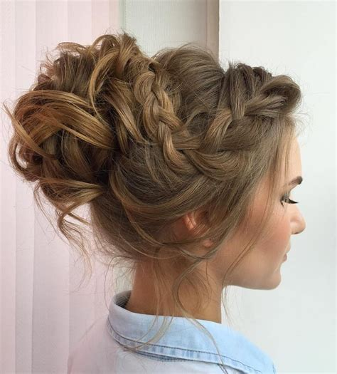 model hairstyles for ponytail hairstyles for prom s 25 best ideas about fancy hairstyles on side