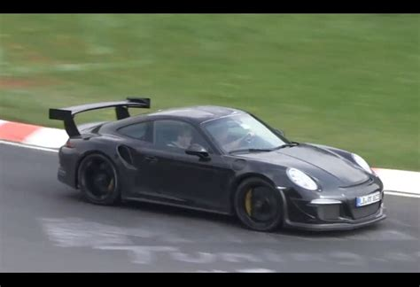 porsche prototype 2015 2015 porsche 911 gt3 rs spotted in sweden geneva debut