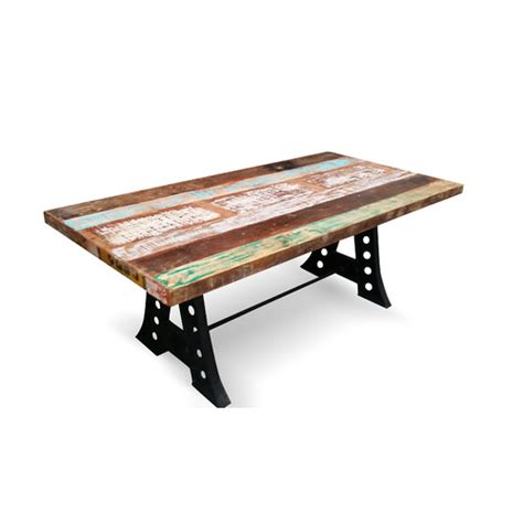 industrial reclaimed wood dining table industrial reclaimed wood dining table temple webster