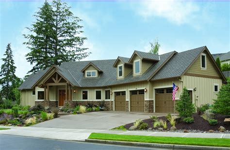luxurious home plans charming and luxurious craftsman home plan 69002am