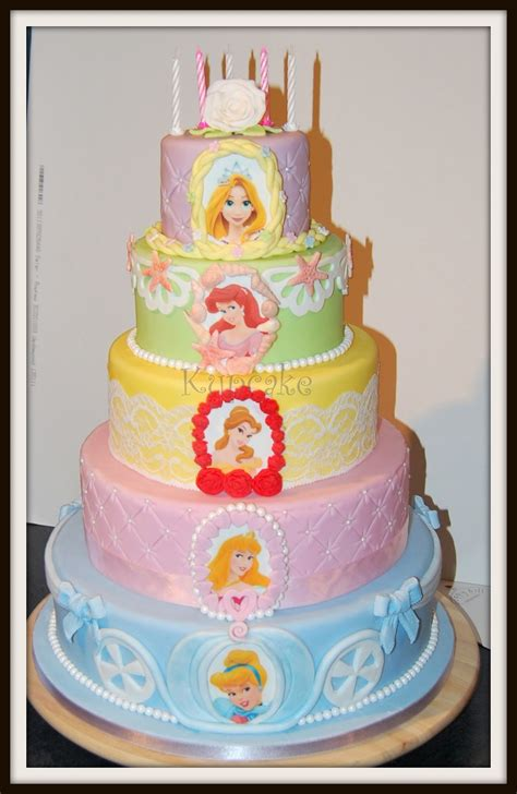 Princess Cake by Dil Said To Design S Cake Around The Disney Princess