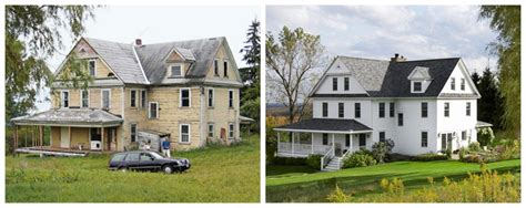 old house before and after renovation 50 inspirational home remodel before and afters