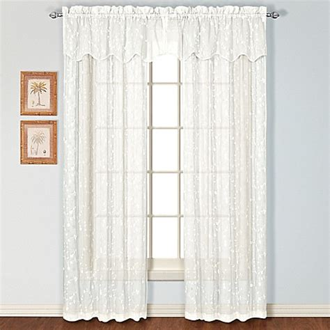bed bath beyond curtains window treatments savannah rod pocket window curtain treatments bed bath