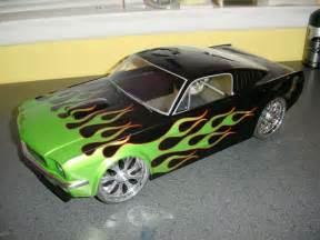 flames on ford mercury and mustangs