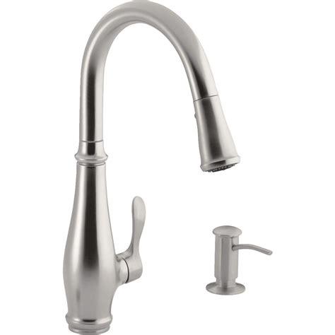kitchen faucets with soap dispenser kohler cruette pull kitchen faucet with soap or lotion dispenser ebay