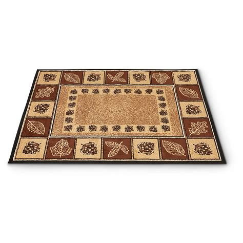 Pine Cone Area Rugs Pine Cone Trail Rug 661637 Rugs At Sportsman S Guide