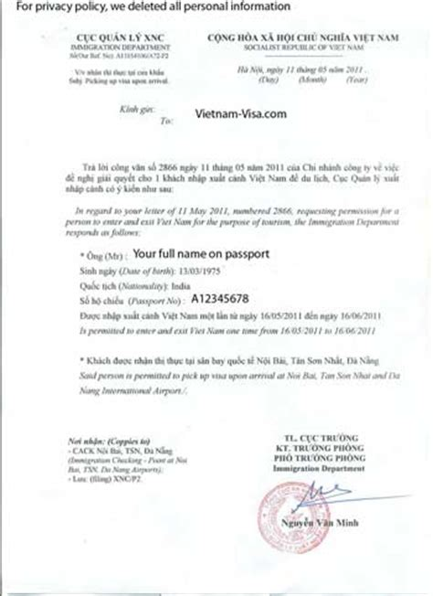 Letter For Visa Extension Vietnamvisa Hk Frequently Asked Questions On Visa