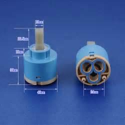ceramic disc cartridges for faucets 40mm ceramic disc cartridge water mixer tap inner faucet