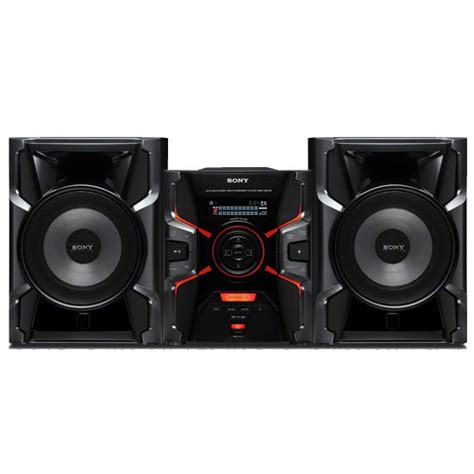 mini system sony mhc ex880 400w rms an 225 lise do mini