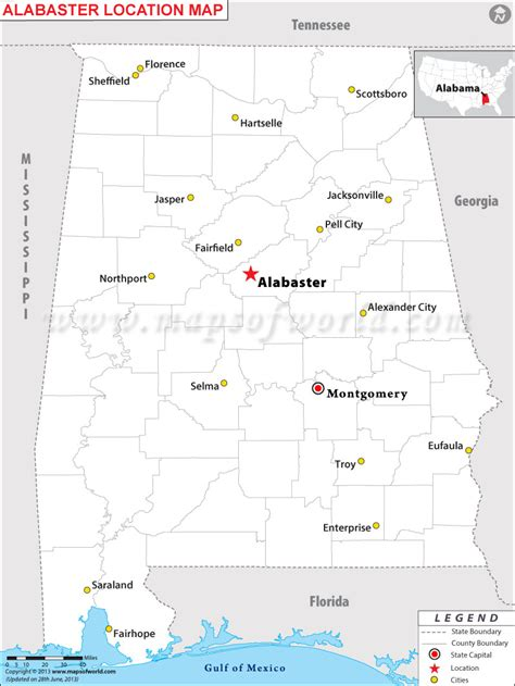 Alabaster L by Where Is Alabaster Alabama
