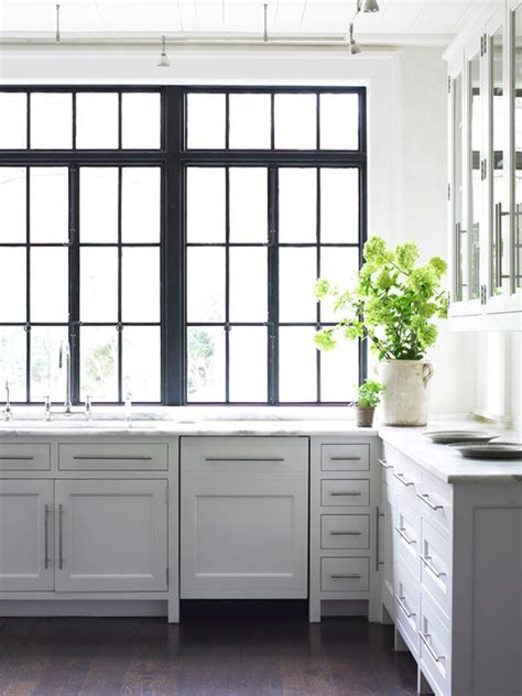 kitchen cabinets with windows black frame windows the estate of things