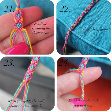 How Do You Do String - diy friendship bracelets the stripe