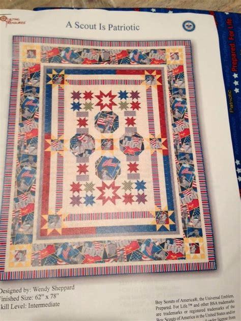 quilt pattern eagle boy scout quilt kit 62 quot x78 quot quilts pinterest boys