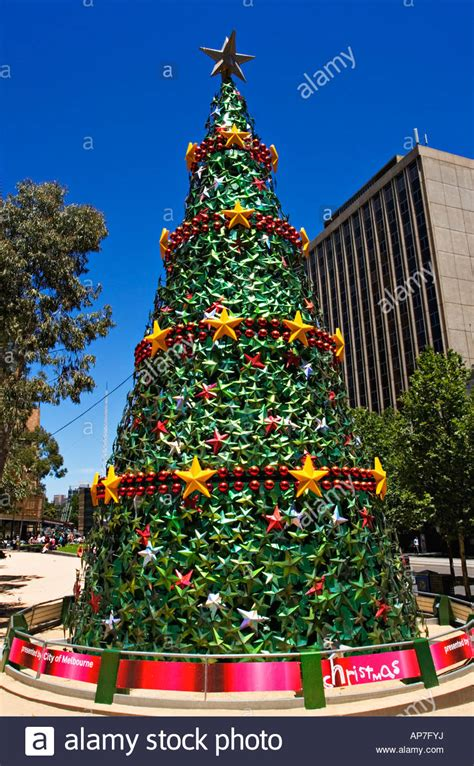 melbourne scenic a christmas tree displayed in melbourne