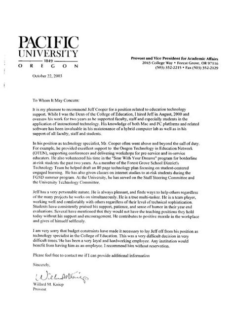 Recommendation Letter For A Student Worker Letters Of Recommendation For Students Crna Cover Letter