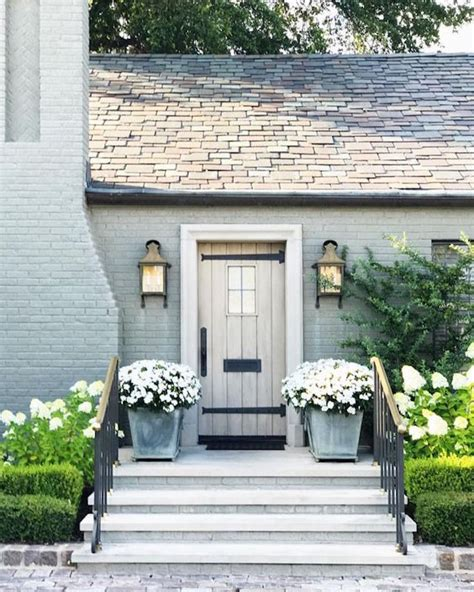 light gray painted brick pros and cons painted brick exteriorsbecki owens