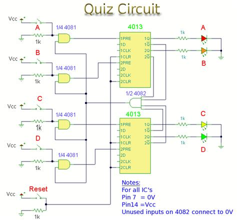 pcb layout quiz quiz buzzer circuit