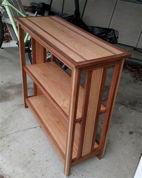 Oak Entry Table Oak And Mahogany Entry Table By Wacki Lumberjocks Woodworking Community