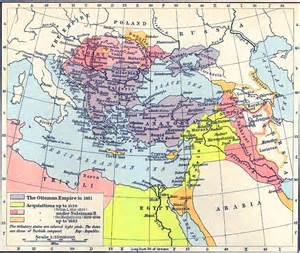 Ottoman Empire 1815 Map Of The Ottoman Empire 1481 1683