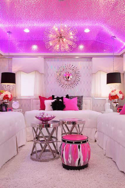 dance bedroom glam dance studio contemporary bedroom los angeles