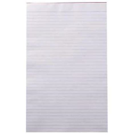 foolscap size writing paper staples writing pad foolscap ruled recycled 50gsm white