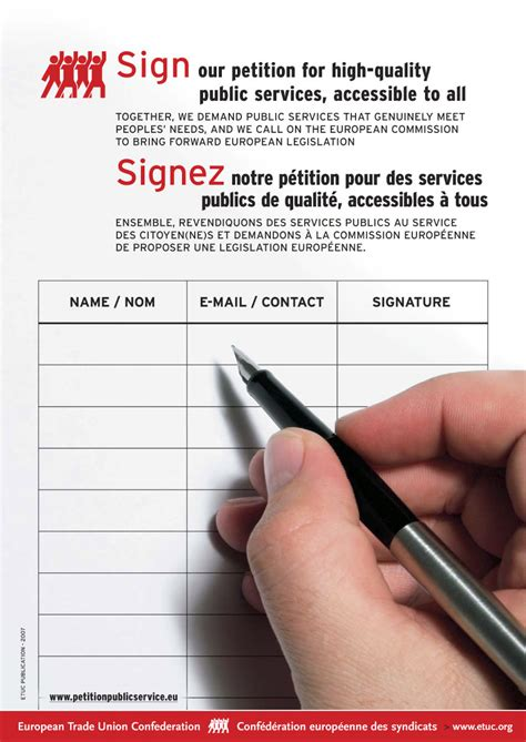 How To Make A Petition On Paper - petition template ideas for petitions gopetition