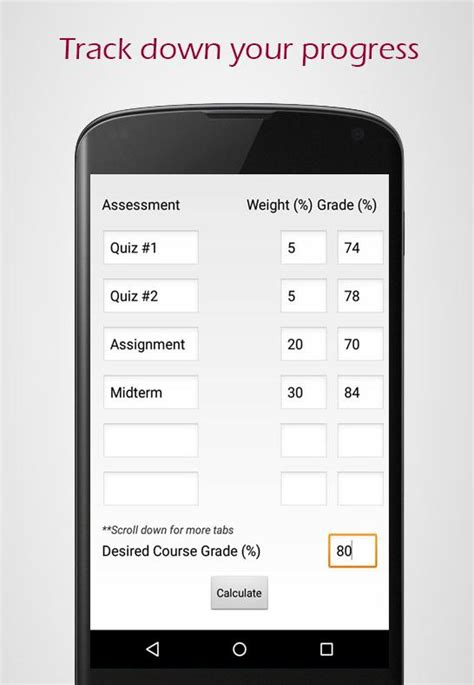 Mcmaster Mba Grading Scale by Mcmaster Gpa Android Apps On Play
