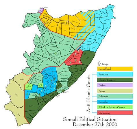 map of somalia somalia civil war