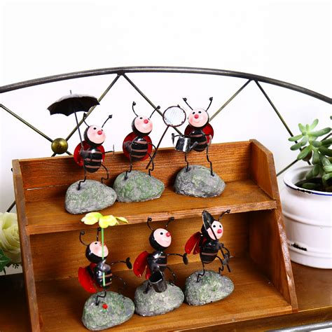 buy wholesale garden metal ants decoration from
