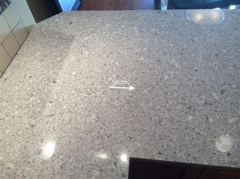 Quartz Countertop Seams the quot quot seam custom granite quartz countertops nananaimo