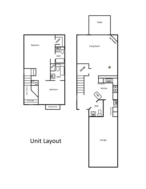 html layout property townhome layout townhouse apartments redding