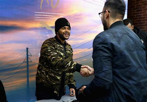 the weeknd opens up about how he met girlfriend bella the weeknd opens up to fans in quot another you quot documentary