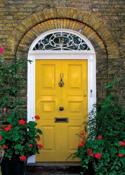 cool front doors make a dramatic first impression 15 painted front doors